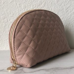 5 FOR $25 PERRICONE MD Quilted Blush Cosmetics Bag